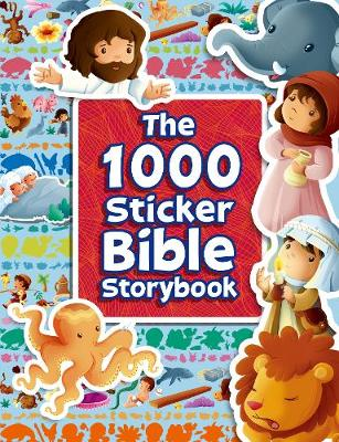 The 1000 Sticker Bible Storybook - Activity Bible books (Paperback)