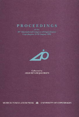 Proceedings of the 20th International Congress of Papyrologists (Hardback)