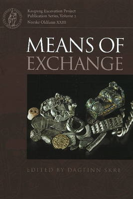 Means of Exchange: Dealing with Silver in the Viking Age (Hardback)