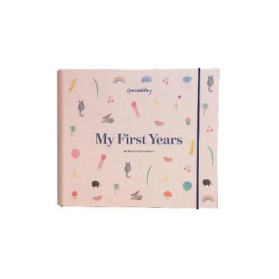 My First Years - memories & treasures: Rose album - My First Years