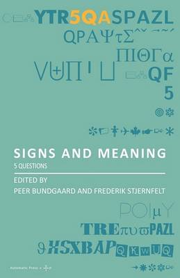Signs and Meaning: 5 Questions (Paperback)