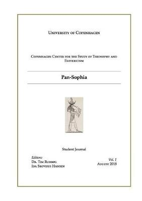 Pan-Sophia: A Student Journal (Paperback)