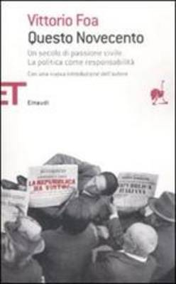 Questo Novecento (Paperback)
