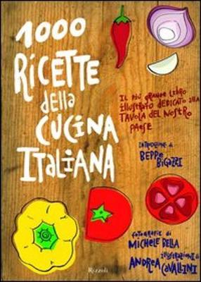 1000 Ricette Della Cucina Italiana (Hardback)