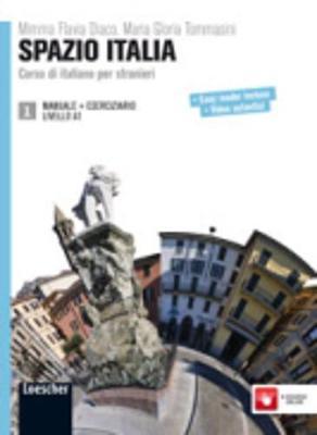 Spazio Italia: Manuale + Eserciziario 1 (A1) (Paperback)