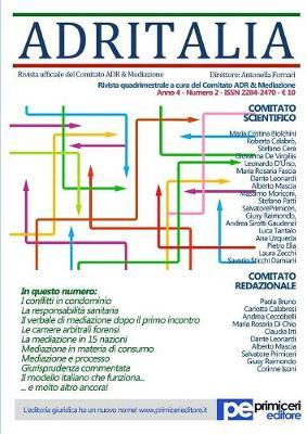 Adr Italia (Numero 2/2017) (Paperback)