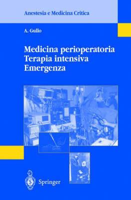 Medicina Perioperatoria, Terapia Intensiva, Emergenza (Paperback)