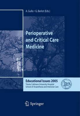 Perioperative and Critical Care Medicine: Educational Issues 2005 (Paperback)