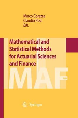 Mathematical and Statistical Methods for Actuarial Sciences and Finance (Paperback)