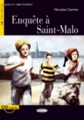 Enquete a Saint-Malo - Book & CD