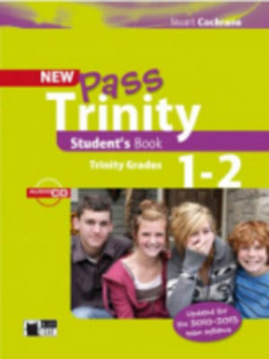 New Pass Trinity: Student's Book + audio CD Grade 1-2