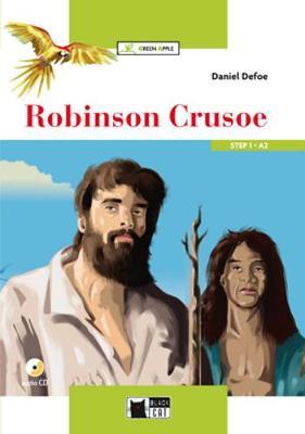 Green Apple: Robinson Crusoe + audio CD