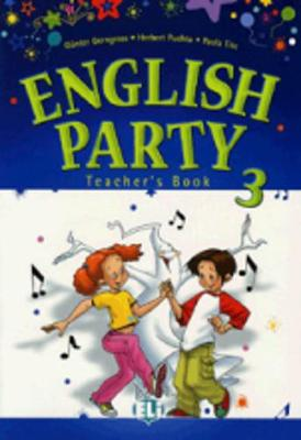 English Party: Teacher's Book 3 (Paperback)