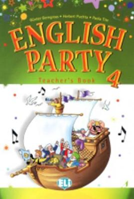 English Party: Teacher's Book 4 (Paperback)