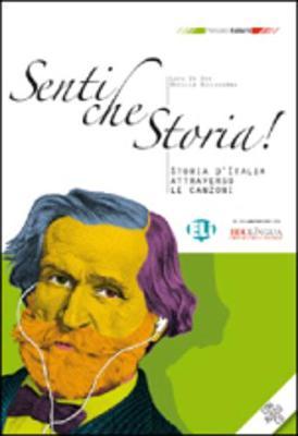 Percorsi italiani: Senti che Storia! - Libro + CD