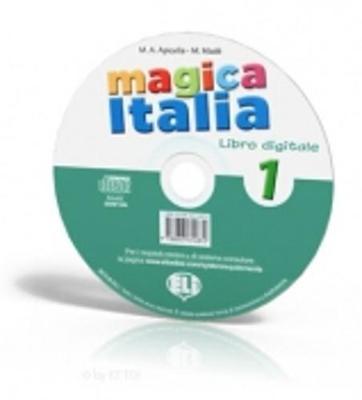 Magica Italia: Libro Digitale (CD-ROM) 1 (CD-ROM)