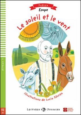 Young ELI Readers - Fables: Le soleil et le vent + Multi-ROM (Paperback)