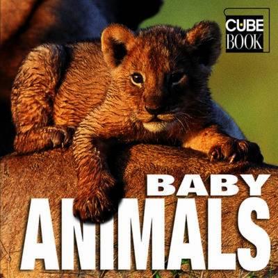 Baby Animals: Cubebook (Hardback)