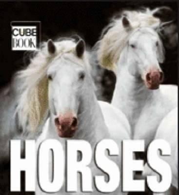 Mini Cubebook Horses (Hardback)