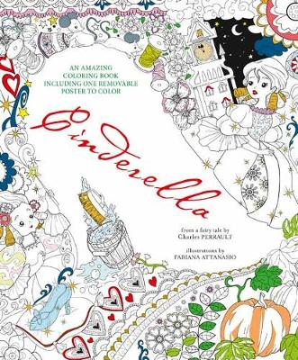 Cinderella An Amazing Colouring Book Paperback
