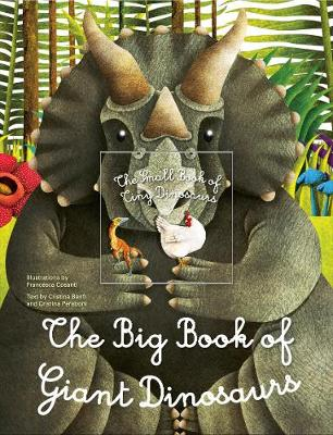 Big Book of Giant Dinosaurs, The Small Book of Tiny Dinosaurs (Hardback)