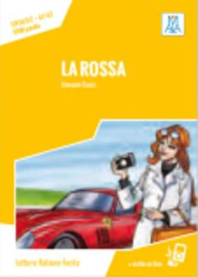 Italiano facile: La rossa. Libro + online MP3 audio (Paperback)