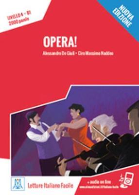 Italiano facile: Opera! Libro + online MP3 audio (Paperback)