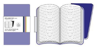 Moleskine Volant Pocket Ruled Light Violet & Brilliant Violet 2-set - Moleskine Volant