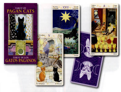 Tarot of Pagan Cats Mini Tarot (Paperback)