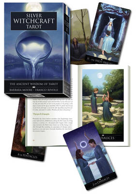 Silver Witchcraft Tarot Kit: Book and Card Set