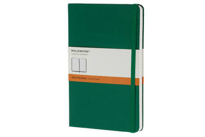 Moleskine Oxide Green Large Ruled Notebook Hard - Moleskine Classic