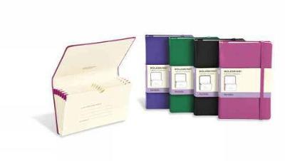 Moleskine Brilliant Violet Pocket Portfolio Hard - Moleskine Classic