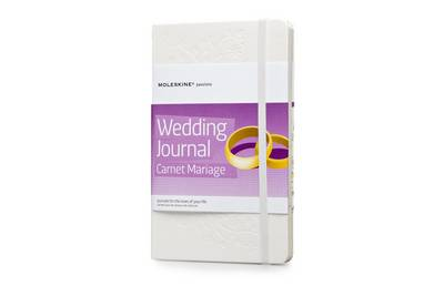 Wedding Planner by Moleskine, white a with pearlescent cover