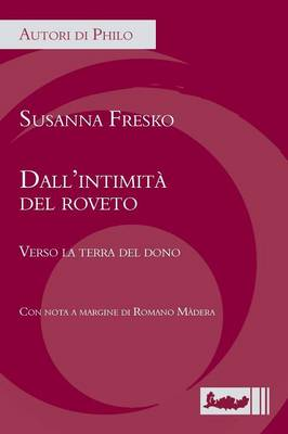 Dall'intimita del Roveto (Paperback)
