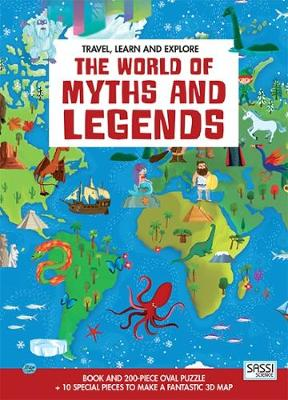 The World of Myths and Legends - Travel Learn & Explore (Hardback)