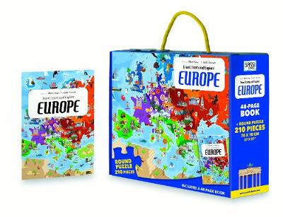 Europe - Travel, Learn and Explore (Hardback)