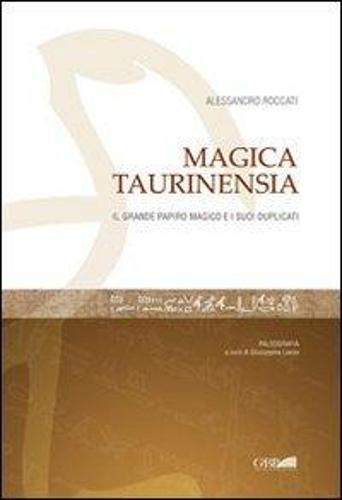 Magica Taurinensia: Il Grande Papiro Magico Di Torino e I Suoi Duplicati: Transcription of Original. Egyptian Papyri, with Italian Translation - Analecta Orientalia (Paperback)