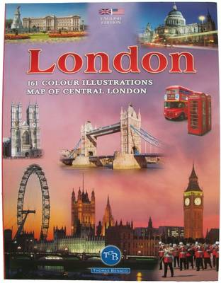 London: 161 Colour Illustrations and Map of London (Paperback)