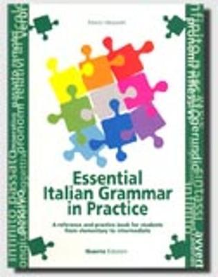 Grammatica essenziale della lingua italiana con esercizi: Essential Italian Gram (Paperback)