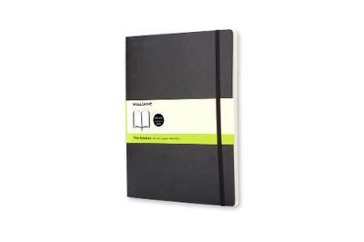 Moleskine Soft Xlarge Plain Notebook - Moleskine Classic