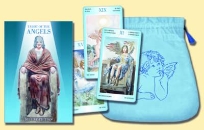 Tarot of the Angels: Deluxe Tarot Card Deck and Tarot Bag Set