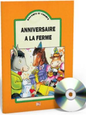 Raconte et chante: Anniversaire a la ferme - teacher's set (book & CD)