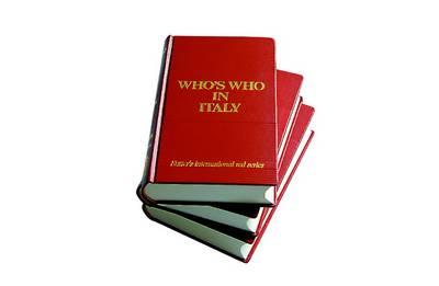Who's Who in Italy 2012 (Hardback)