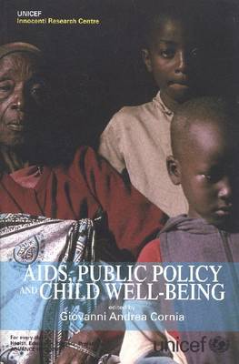 AIDS Public Policy and Child Well Being (Paperback)