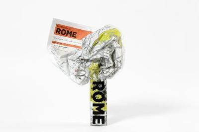 Rome Crumpled City Map - Crumpled City Maps (Sheet map)