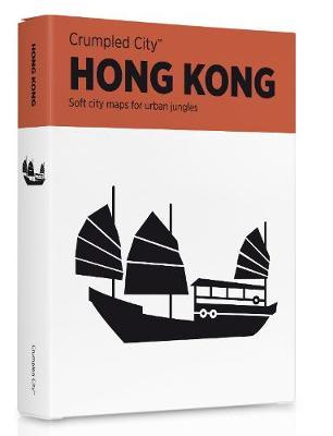 Hong Kong Crumpled City Map - Crumpled City Maps (Sheet map)