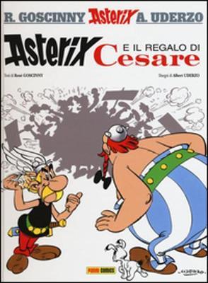 Asterix in Italian: Asterix e il regalo di Cesare (Hardback)