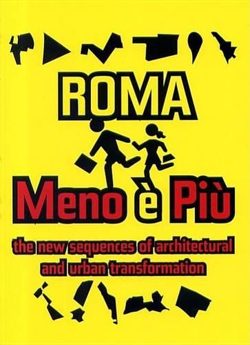 ROMA Menoepia: The New Sequence of Architectural and Urban Transformations (Paperback)