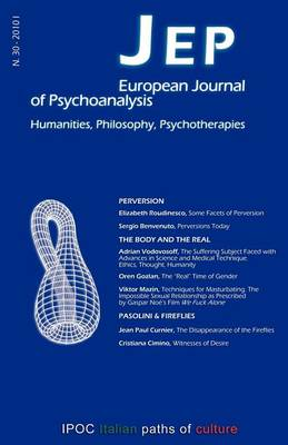 JEP European Journal of Psychoanalysis N.30 (Paperback)