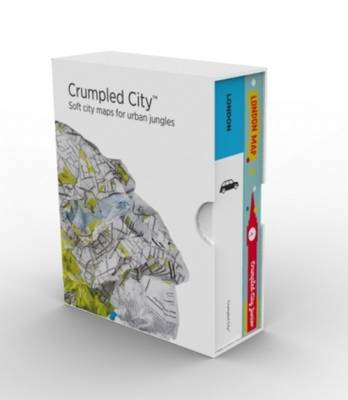 Bundle London Adult & Junior Crumpled City Maps (Sheet map)